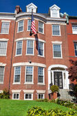 Georgian Brick Townhouse Row House Washington DC — Stock Photo