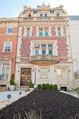 Beaux-Arts Row Home Embassy District Washington DC — Stock Photo