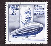 Hungarian Postage Stamp commemorating 150th anniversary Ferdinan — Stock Photo