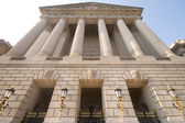 Imposing Facade of Federal office building, Washington DC — Stock Photo