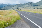 Empty Road Sangre De Christo Mountains New Mexico — Stock Photo