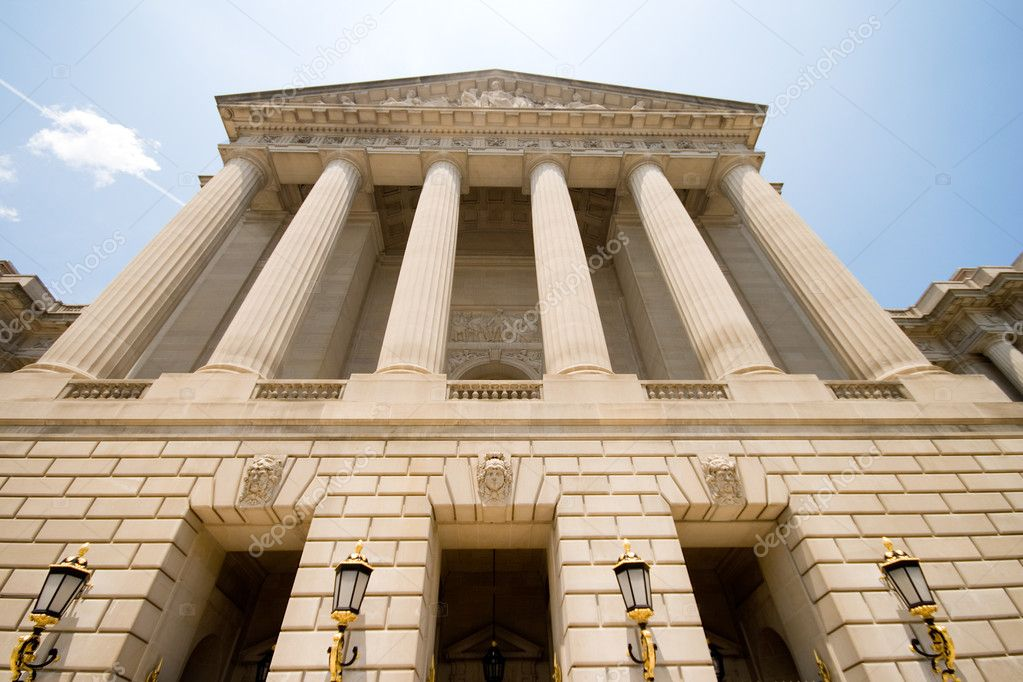 Mellon Auditorium, at the Environmental Protection Agency building in downtown Washington, DC, Unite States. — Stock Photo #7895887