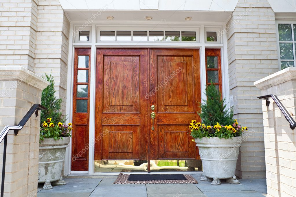 XXXL Wooden Double Door Grand Entrance to a Home  Stock Image 1023 x 682 · 317 kB · jpeg