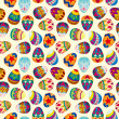 Seamless Easter egg pattern — Stok Vektör