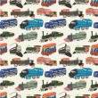 Vetorial Stock : Seamless train pattern