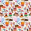 Seamless candy pattern — Stock Vector #7861892