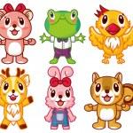 Cartoon animal icon — Stock Vector #7861893