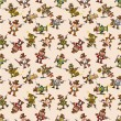 Royalty-Free Stock Vector Image: Seamless cowboy pattern