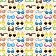 Seamless Sunglasses pattern — Stock Vector #7862841