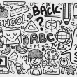 Doodle school - Stock Vector