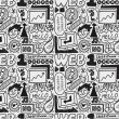 Seamless web pattern — Vettoriali Stock