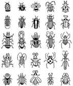 Rękę wyciągnąć owad ikona — Wektor stockowy