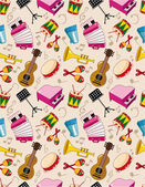 Seamless music pattern — Stock Vector