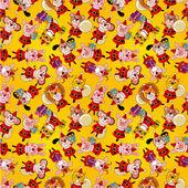 Cartoon animal Santa Claus,xmas holiday seamless pattern — Stock Vector
