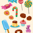 Royalty-Free Stock Vector Image: Cartoon candy icon