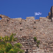 Castle battlement in Greece — Stockfoto #7793531
