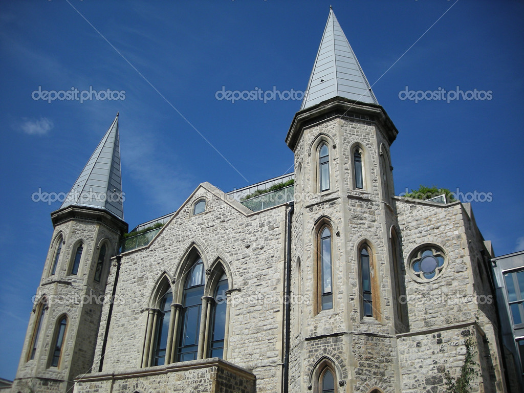 French church in south west of France. — Stock Photo #7881717