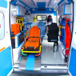 NEW AMBULANCE — Stock Photo