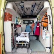 Royalty-Free Stock Photo: Inside of an ambulance