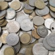 Greek drachma coins — Stock Photo