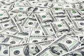 Sfondo di soldi banconota dollaro — Foto Stock