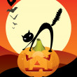 Halloween scary night — Stock Vector #7758003