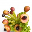 Fruit bouquet — Stock Photo