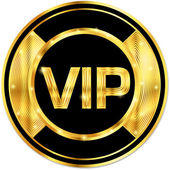 Vip sign — Stock Vector