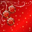 Christmas background — Stock Vector #7881634