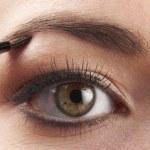 Womans eye — Stock Photo