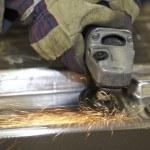 Angle grinder — Stock Photo