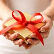 Giving a gift — Stock Photo #7845479