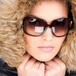 Woman in winter outfit — Stock Photo