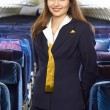 Air hostess — Stock Photo #7795635
