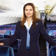 Air hostess (stewardess) — Stock Photo #7795667