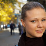 Urban portrait of a girl - 2 — Stock Photo