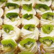 Постер, плакат: Petit fours with kiwi