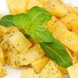 Fried potato with spices — Stock Photo #7795946