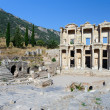 Celsius Library at ancient Ephesus — Foto de Stock