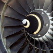 Airplane's jet engine — Stock Photo #7796080