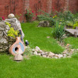 Nice backyard decoration — Stock Photo #7796102