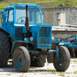 Stock Photo: Old fashoned agricultural tractor