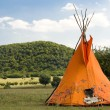 Stock Photo: Teepee or wigwam