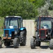 Stock Photo: Two wheeled tractors