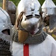 Teuton armoured knight or infantry - Stock Photo