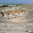 Ancient theater in Hierapolis - Stock Photo