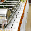Chafing dish heaters — Stock Photo
