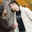 Stock Photo: Fall in love