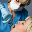 Stock Photo: Tooth extraction