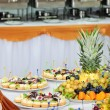 Banquet dessert table — Stock Photo #7796541